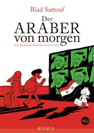 Der Araber von morgen - 2 Book Cover
