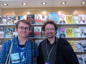 Ich und Bernhard Hennen.