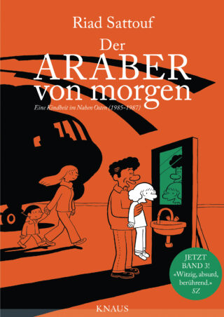 Der Araber von morgen - 3 Book Cover