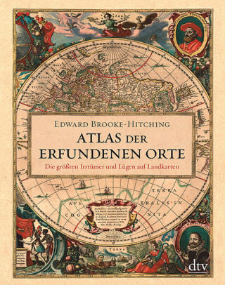 Atlas der erfundenen Orte Book Cover