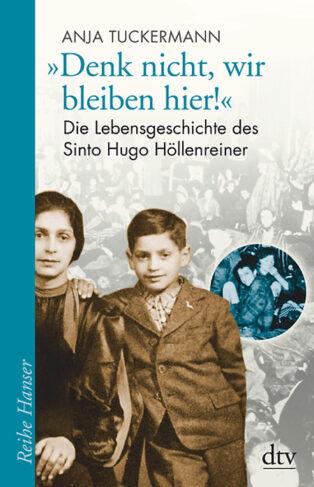 """Denk nicht, wir bleiben hier!"" Book Cover"