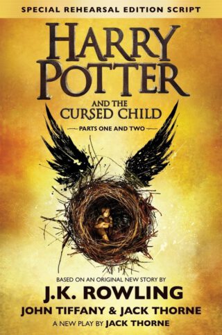 Harry Potter and the Cursed Child I & II Book Cover