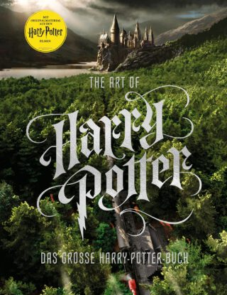 The art of Harry Potter Book Cover