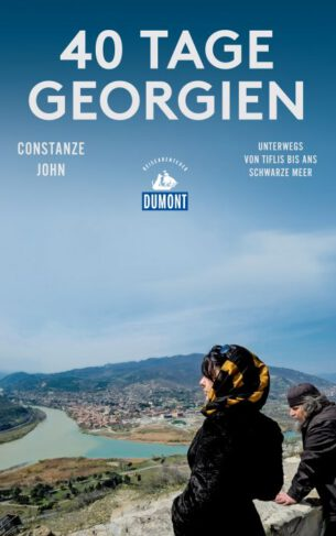 40 Tage Georgien Book Cover