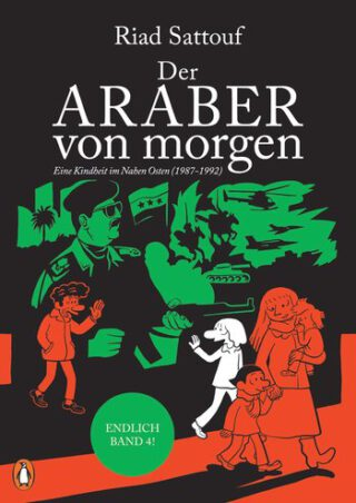 Der Araber von morgen - 4 Book Cover
