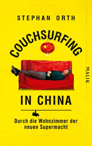 Couchsurfing in China Book Cover