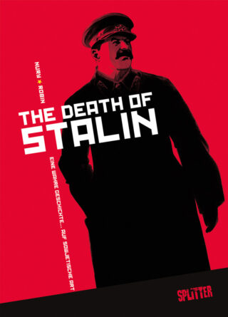 The death of Stalin Book Cover