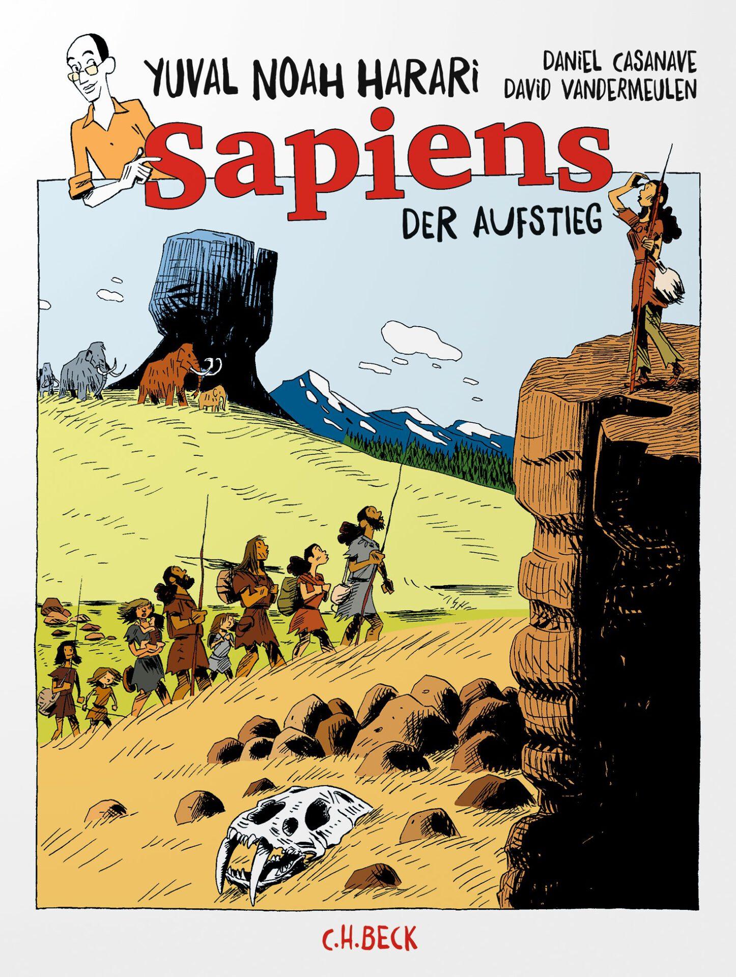 Sapiens - Der Aufstieg Book Cover
