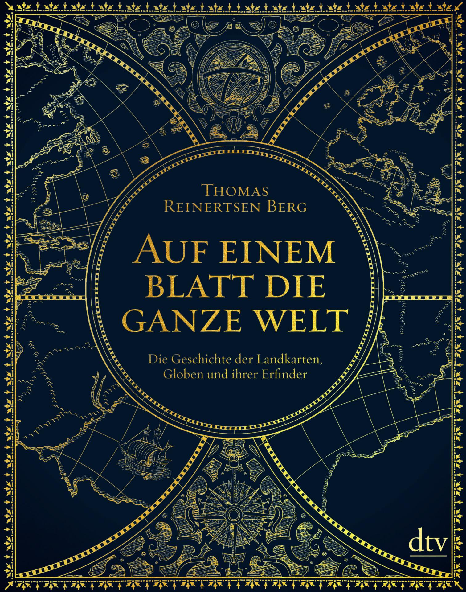 Auf einem Blatt die ganze Welt Book Cover