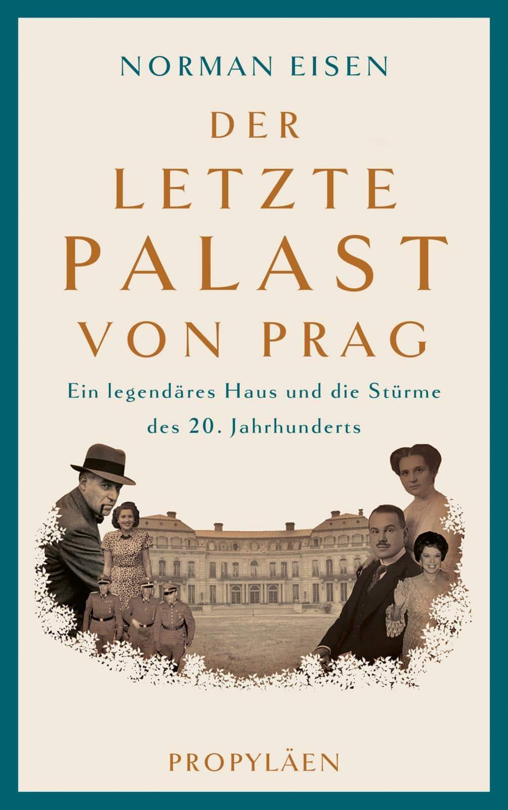 Der letzte Palast von Prag Book Cover