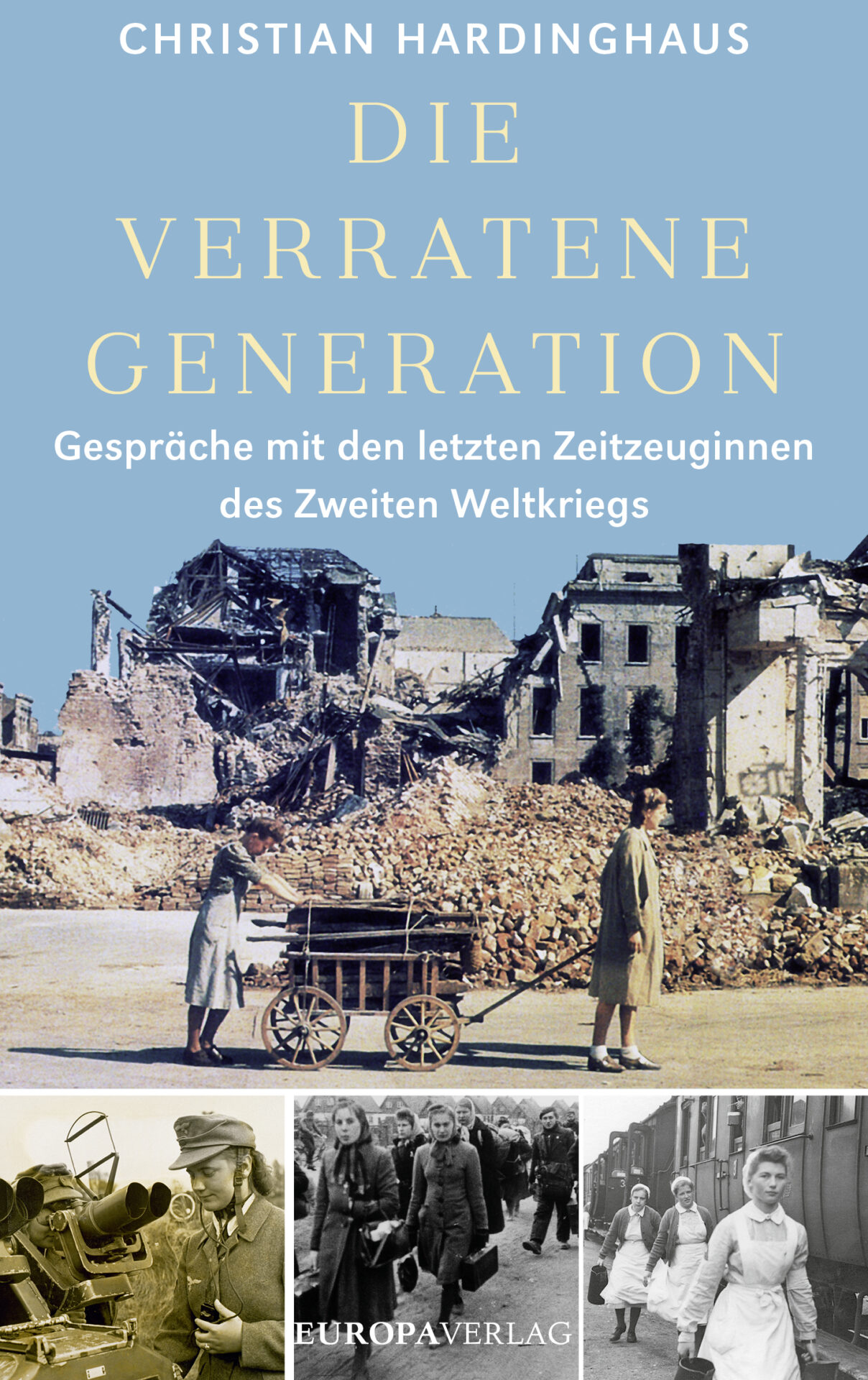 Die verratene Generation Book Cover